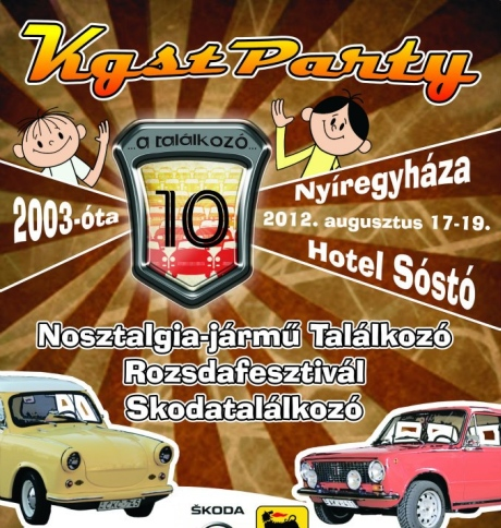 KLIKK - 10. KGST Party, Nyíregyháza, Sóstó