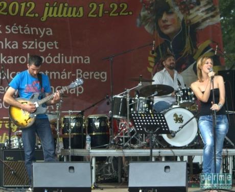 Melounge Minibar Band, Nyíregyháza, Sóstó 2012