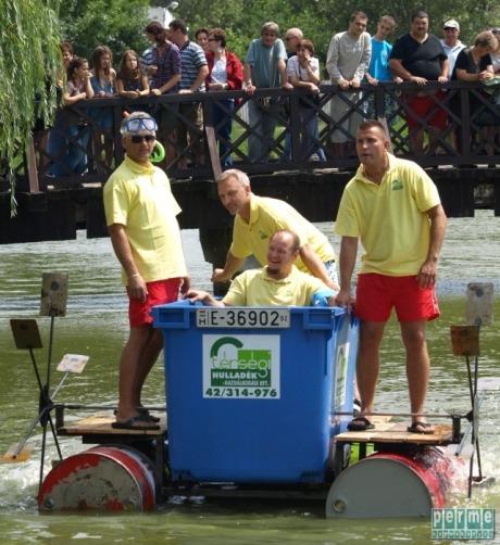 Úszó alkalmatlanságok, Nyíregyháza, Sóstó 2012
